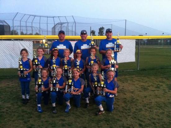 Nice 2nd Place finish for our 8U Silver at the Rancho Roundup!