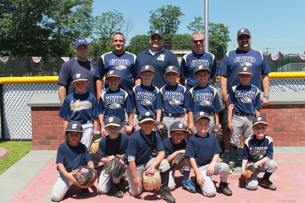 2014 Bethpage Golden Eagles 7U