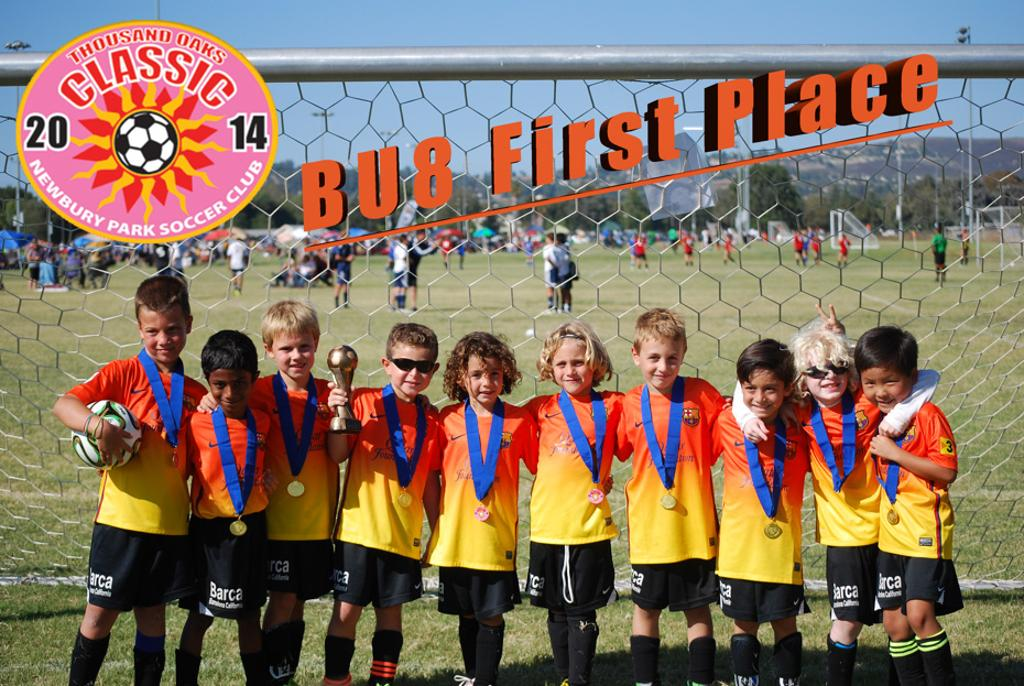 BU8 Barcelona California Team