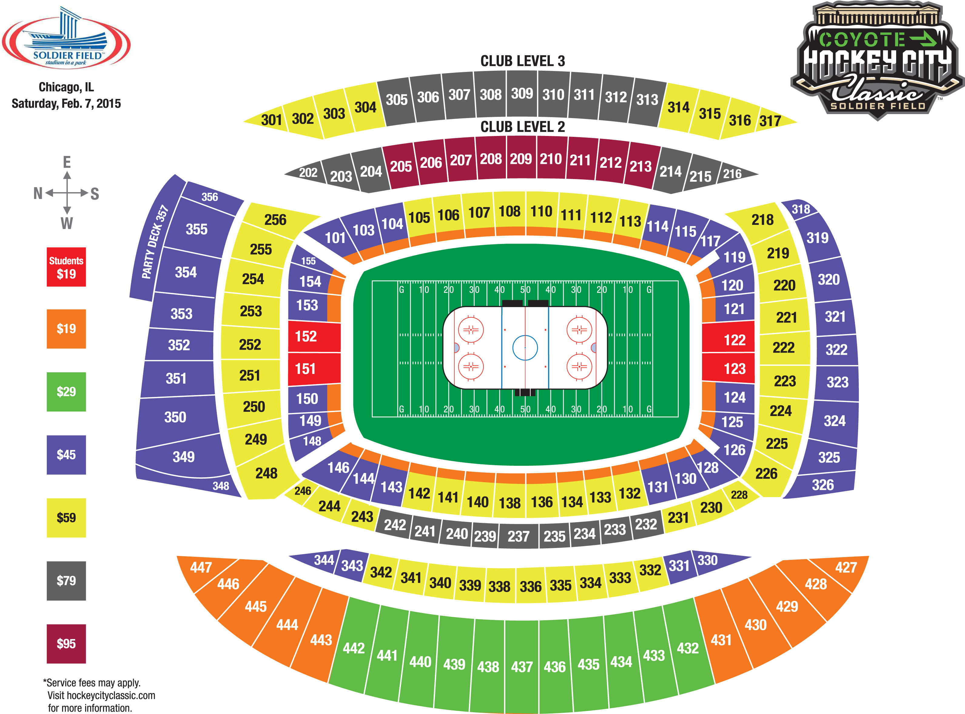 2015 HCC Seating Map