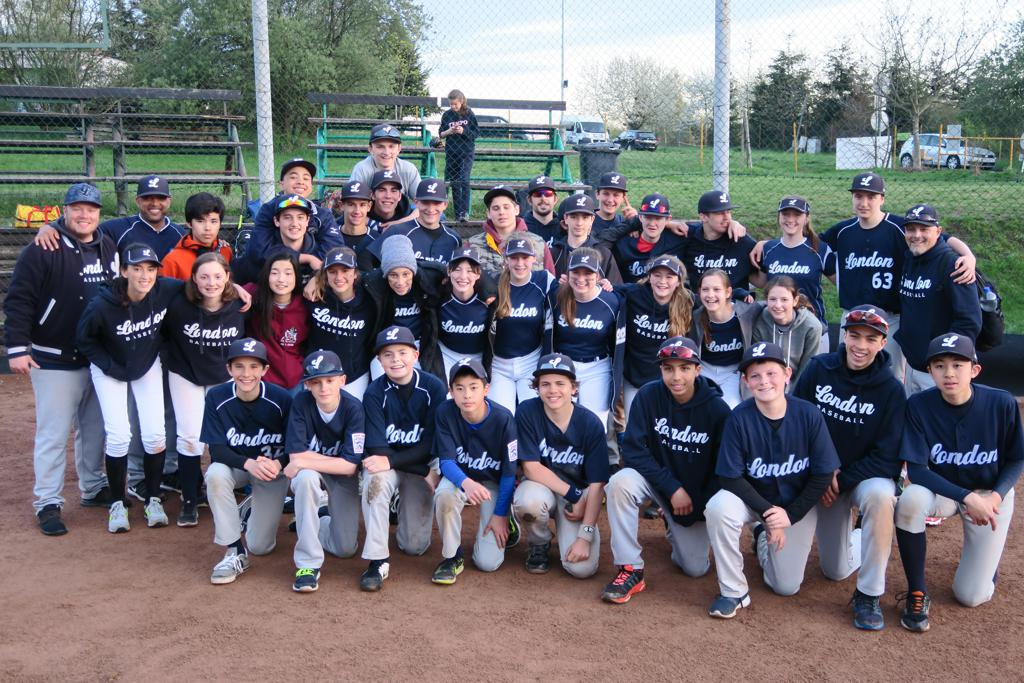 The London Mets Youth All-Stars in Prague, 2016