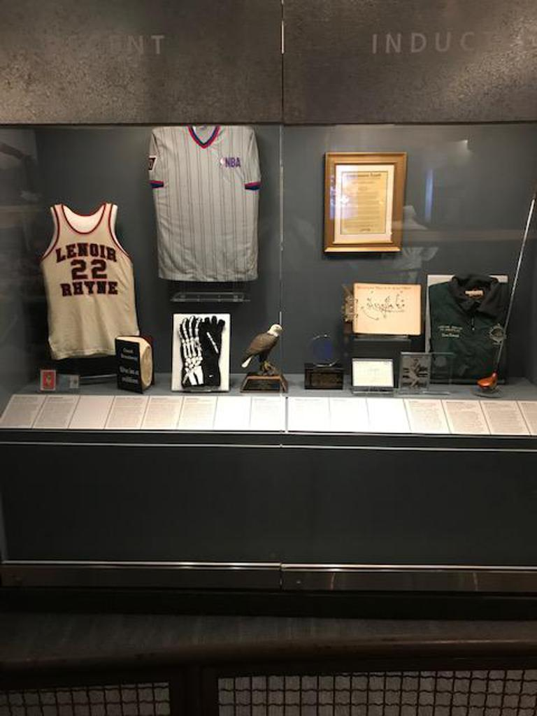 2019 NC Sports Hall of Fame Inductees Memorabilia