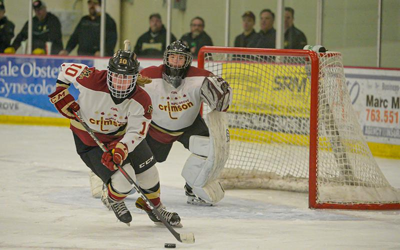 Maple Grove, which has stumbled recently against top-tier competition, looks to gain momentum for the playoffs in a big nonconference showdown with Hill-Murray on Saturday. Photo by Earl J. Ebensteiner, SportsEngine
