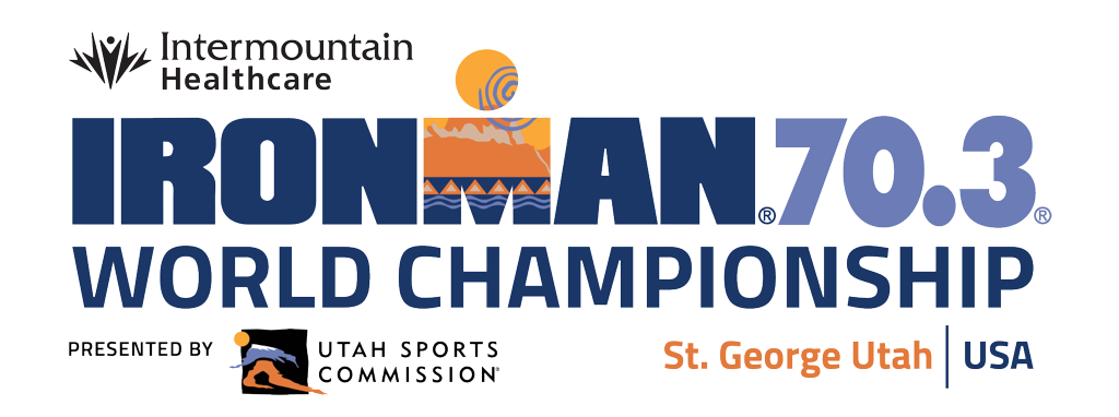 2021 IRONMAn 70.3 World Championship St. George Utah race logo