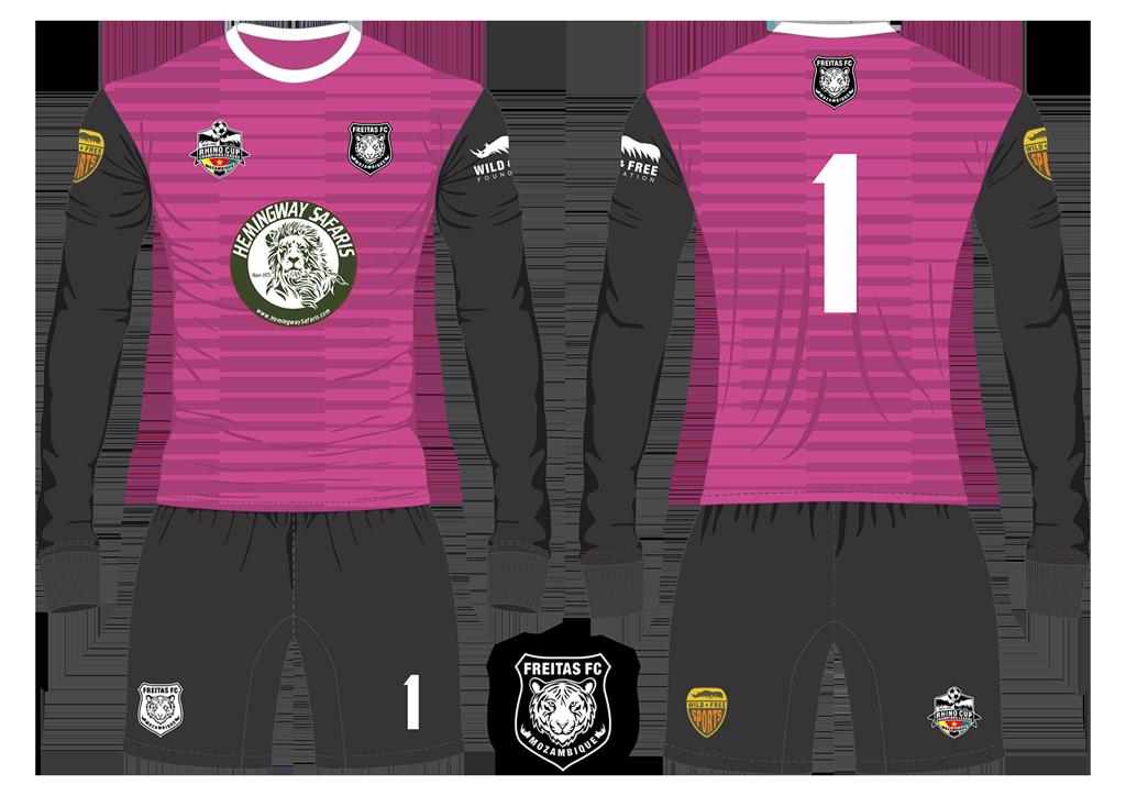 Freitas FC Tigers Goalkeeper Kit RCCL 2019