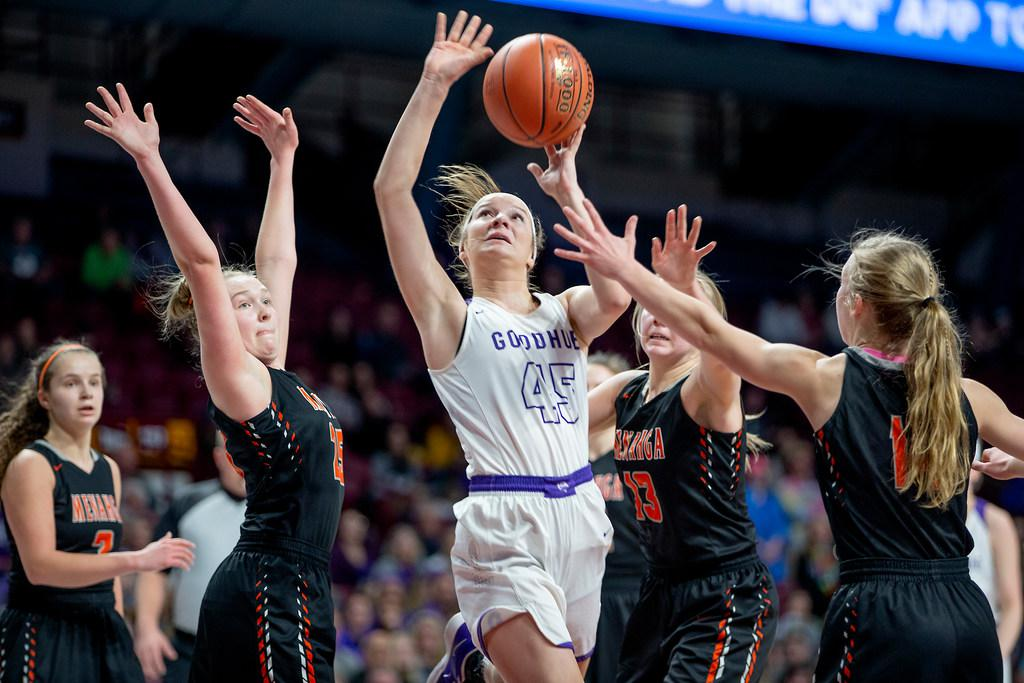 huge selection of 6a867 87d6b Goodhue rallies past Menahga 47-43 to reach 1A title game