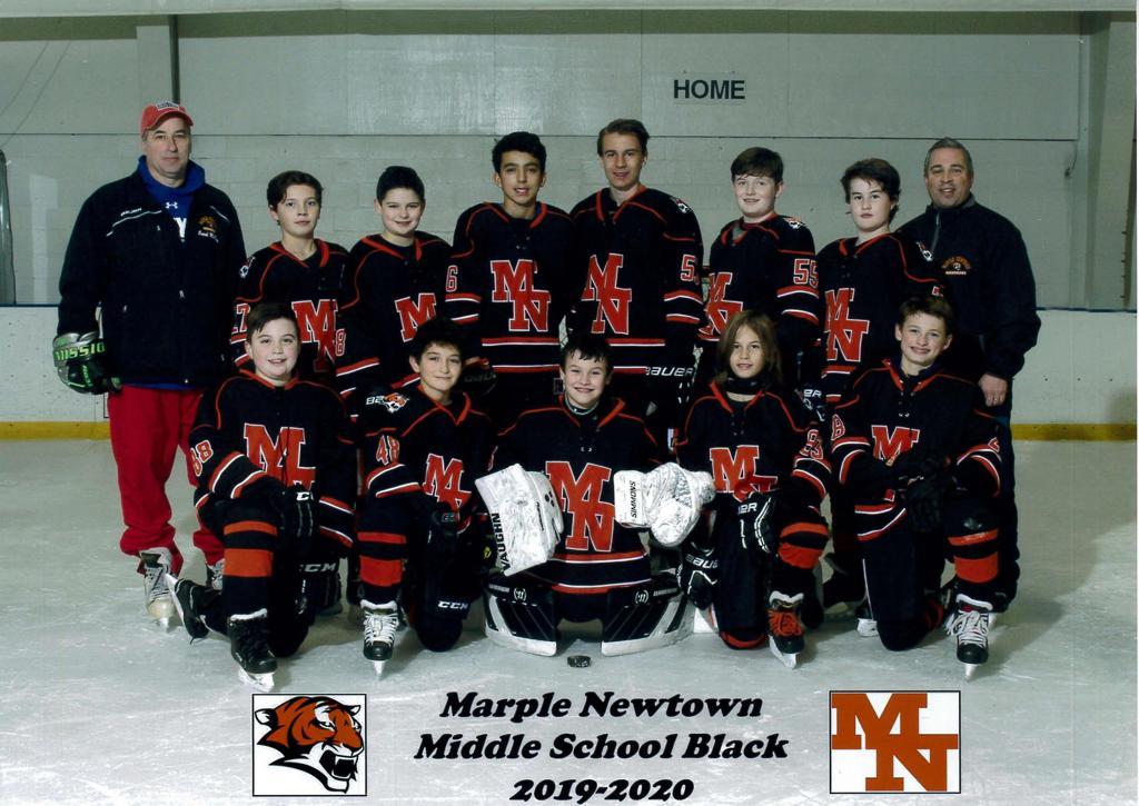 Middle School Black Team 2019-20