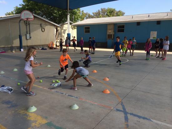 Casis Elementary PE Lacrosse