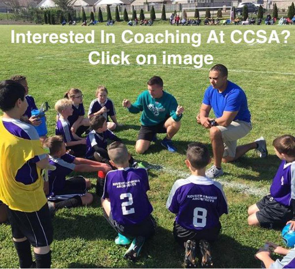 Interested In Coaching At CCSA?