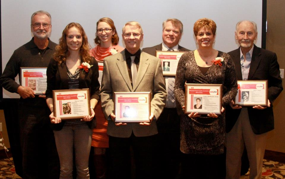 Photo of the WISTCA Hall of Fame Class of 2013
