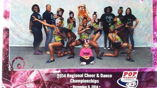 Coach Sutton's Midget Dance Team - 2014 Mid-American Regional Champs