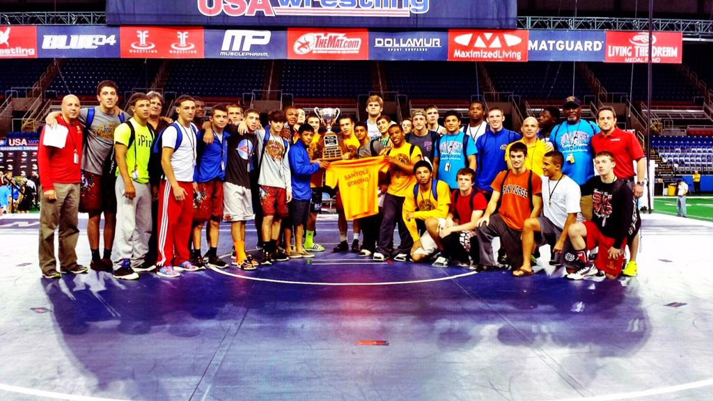 Team NJ - Men's Junior Freestyle Team National Champions