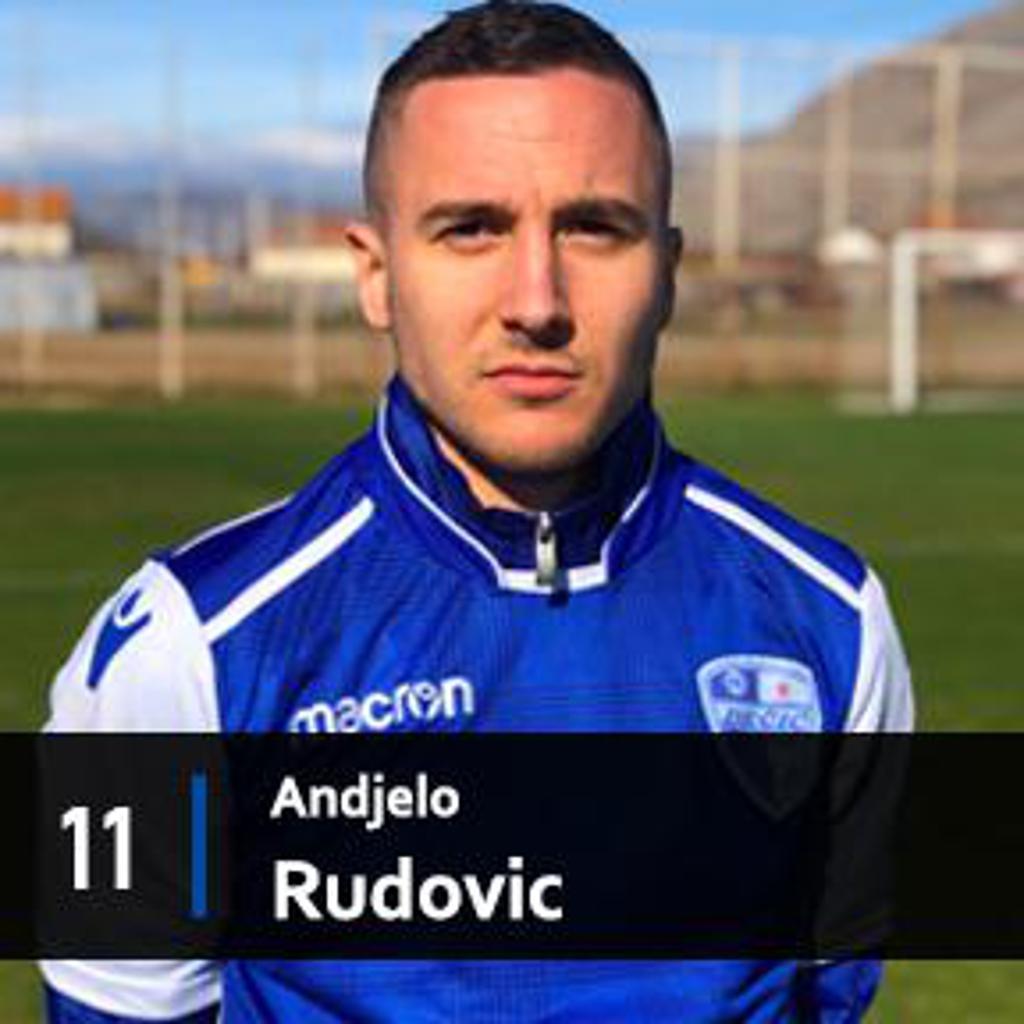 ANDJELO RUDOVIC MIDFIELDER FK DECIC TUZI 1926