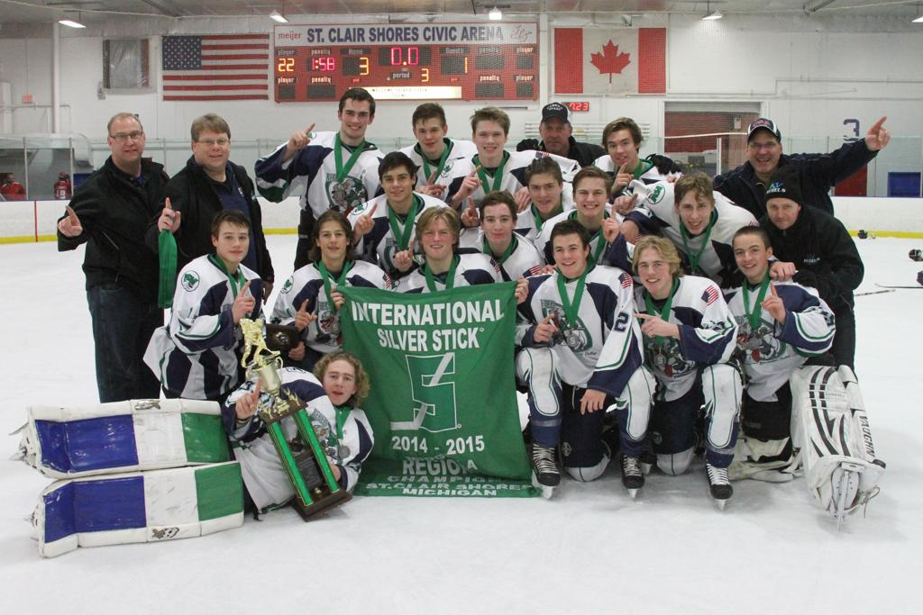 International midget silver sticks