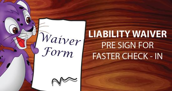 Liability Waiver - Pre Sign for faster check in