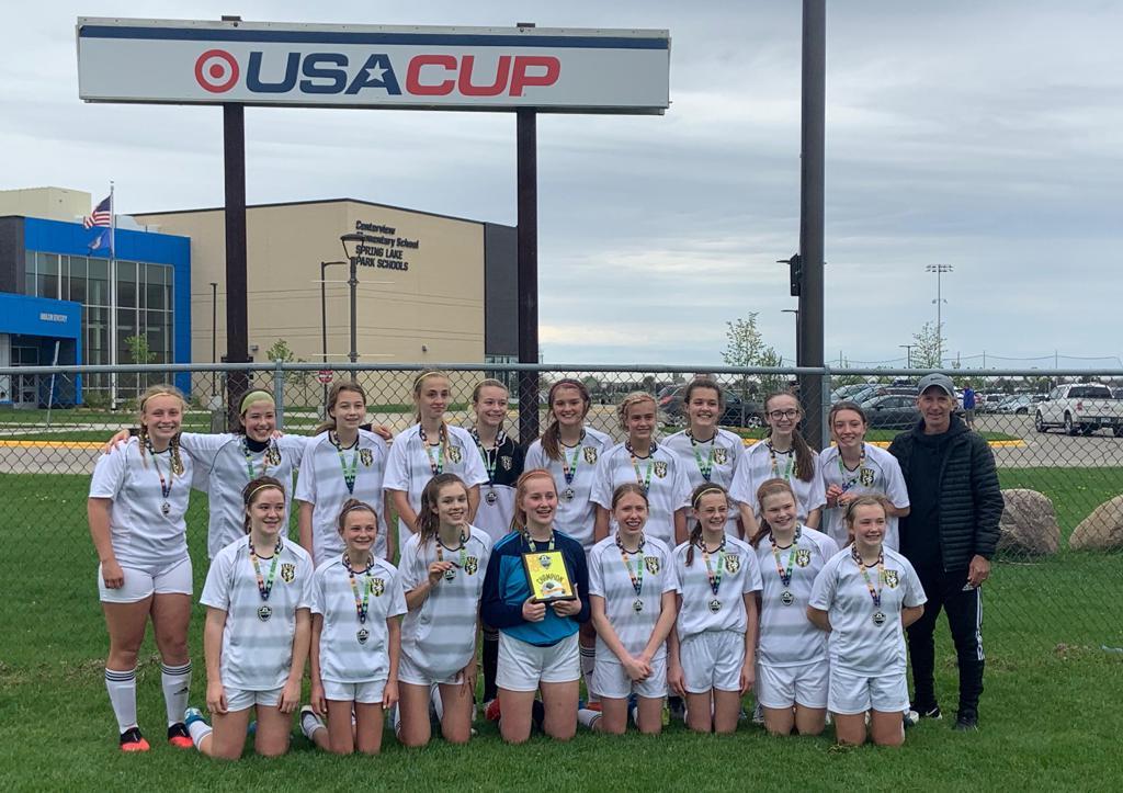 ERSC 07 Girls Elite - NSC Spring Cup Champions 2021