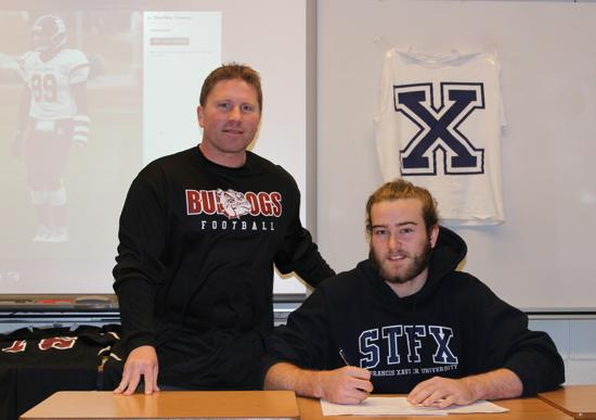 John Comeau signs up with St. FX X-Men