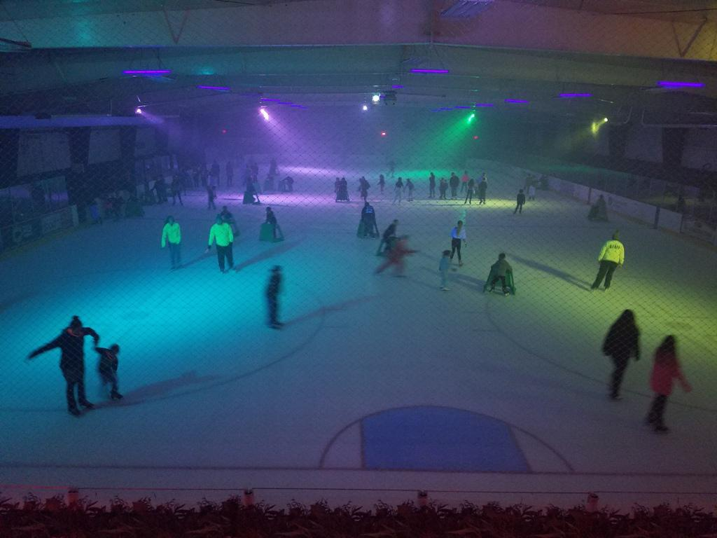 Glow Skating is held every Saturday Night from 7-9pm.