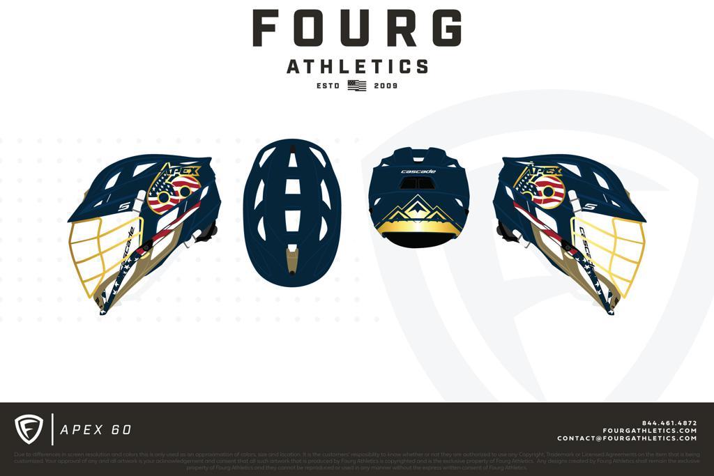 Apex 60 Summer Finale Showcase Custom Cascade S Helmet