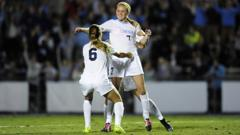 7 year PSV Union FC player Annie Kingman scores for UNC against NCAA Champions Florida State. Annie played several games for the USA U18 WNT