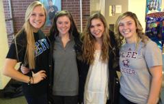 Kate, Zoie, Amber & Marissa