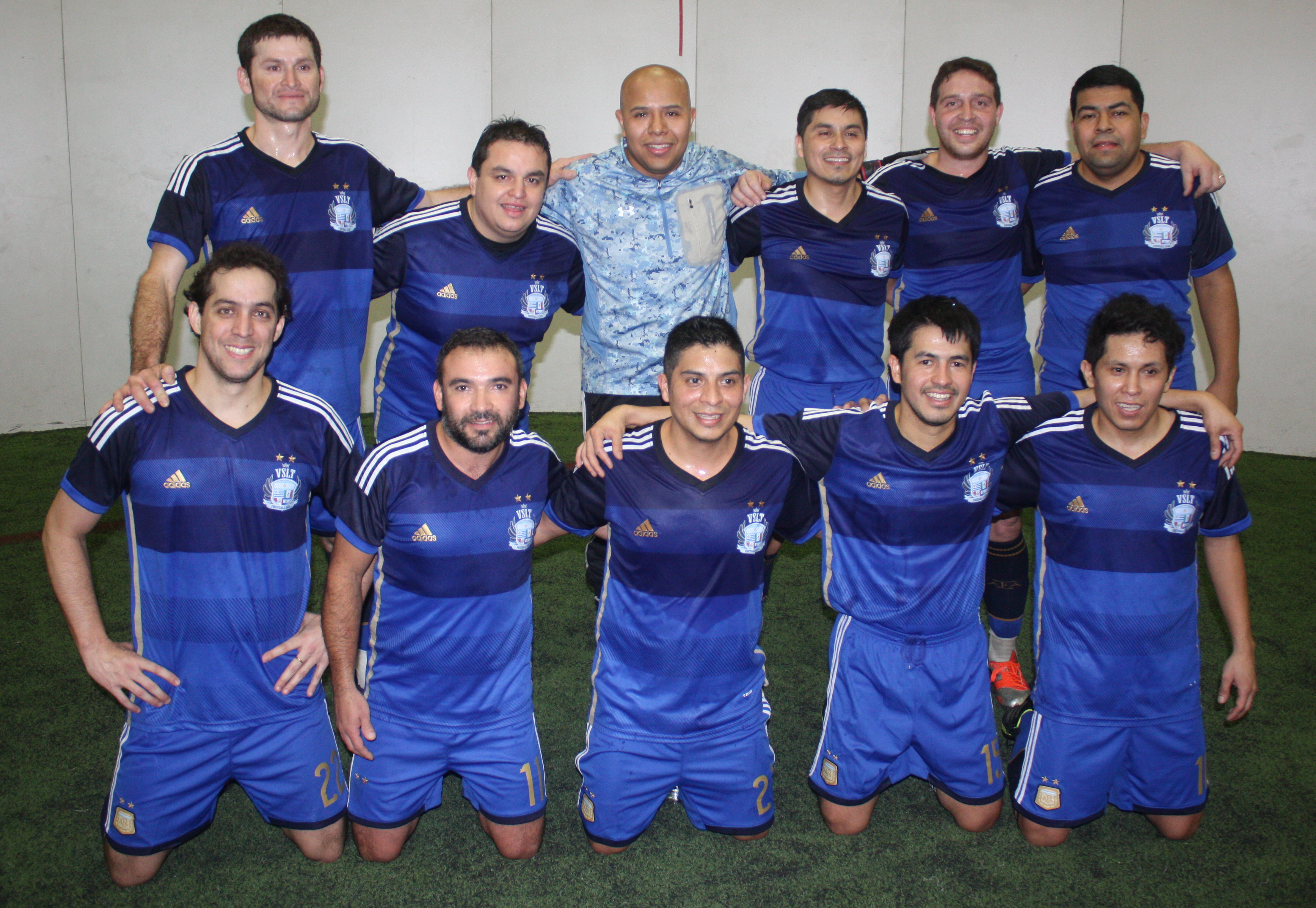 2015 President's Cup Men's Over-30 champions: VSLT FC