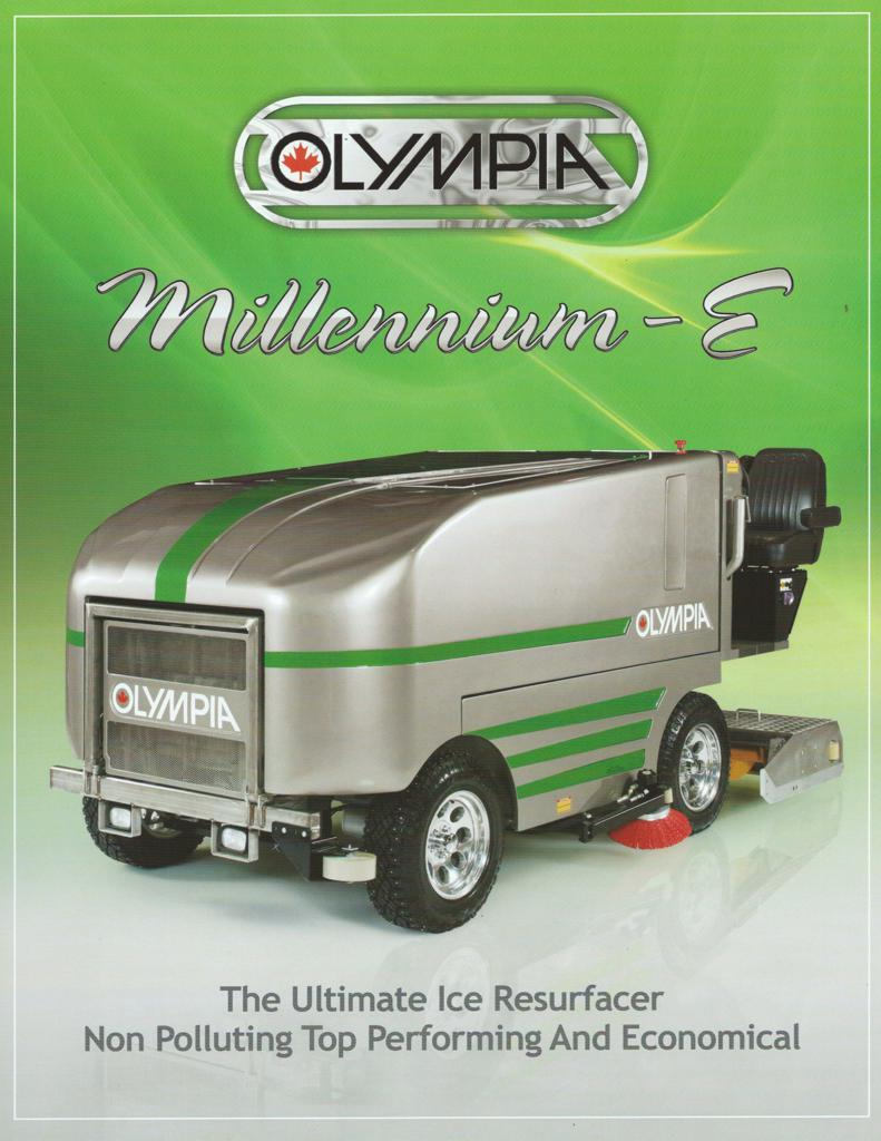 Click here to view specifications for Olympia Millennium E