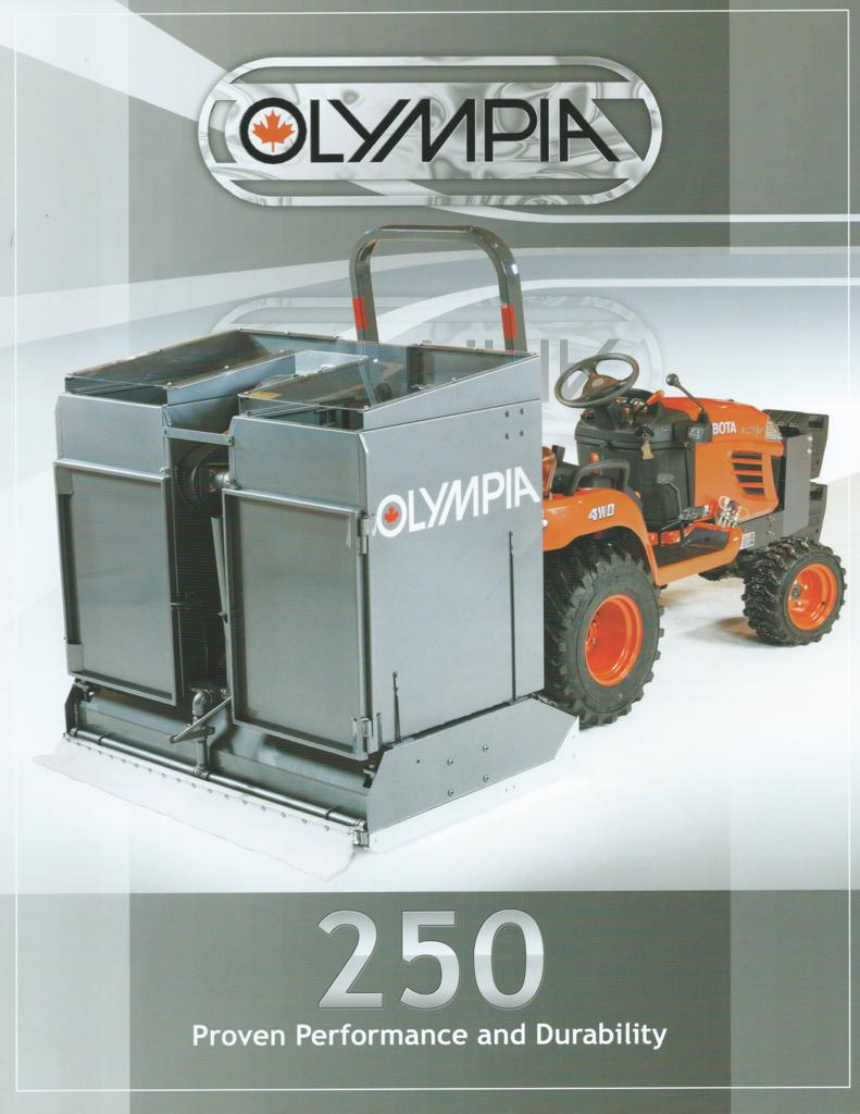 click here to view specifications for Olympia 250 Tractor Mount