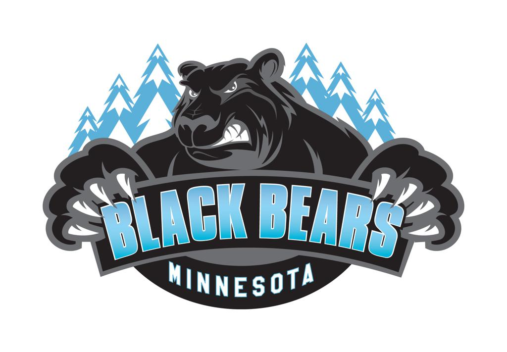 Black bear sports logo - photo#19