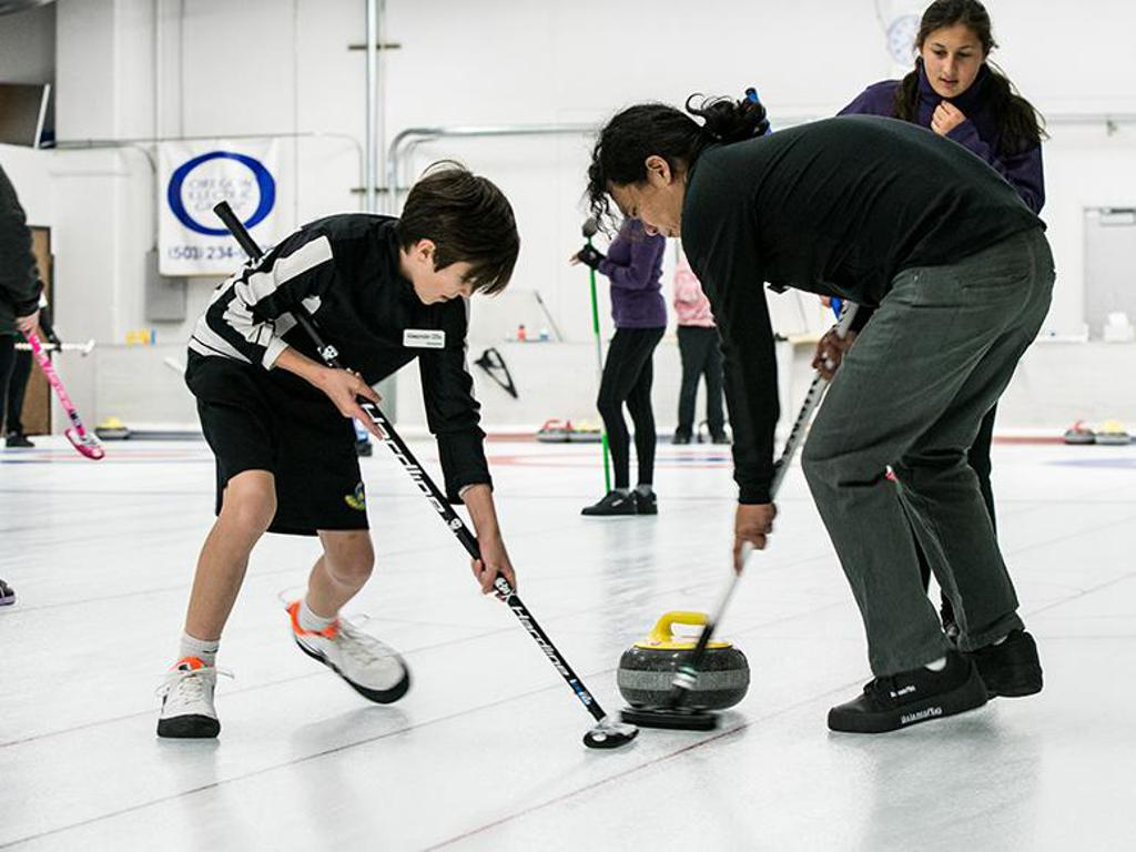 Juniors and adults in league play