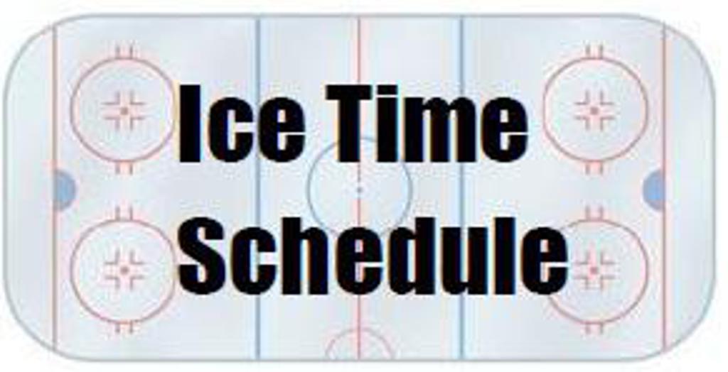 Centennial Ice Arena Calendar
