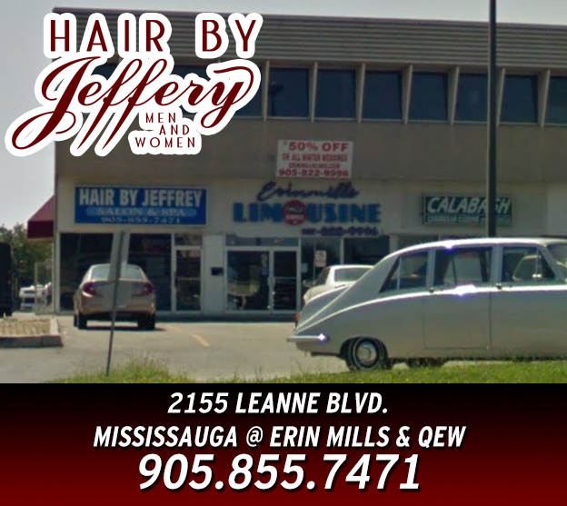 Hair By Jeffery Salon For Men And Women - Mississauga Barber Shop - Mississauga Hair Care