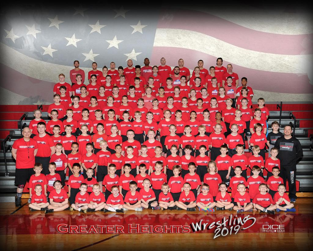 2019 Greater Heights Youth Wrestling Club