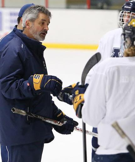 Jeff Poeschl is the longest-tenured and winningest coach in Mahtomedi history. Photo by Cheryl Myers, SportsEngine
