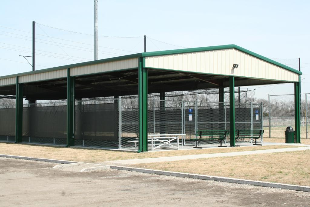Metal Shelters For Batting Cage : Outdoor cage rentals