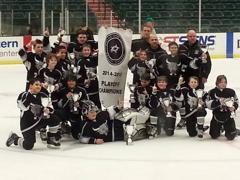 Peewee Champions 2014-2015