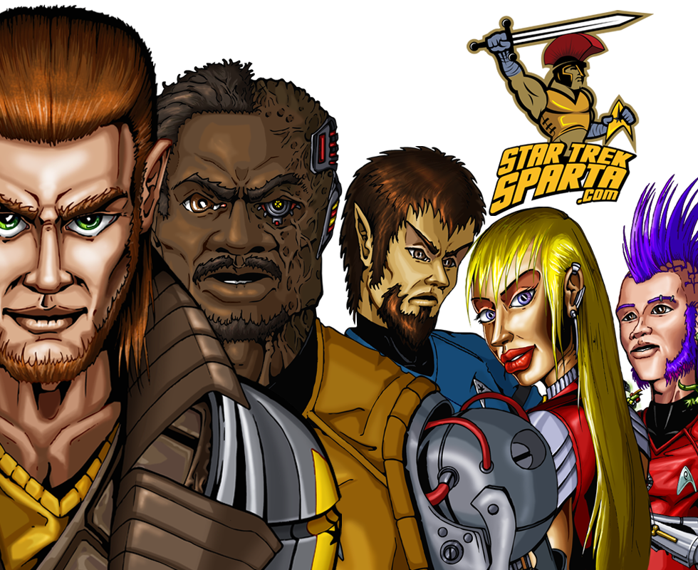 Star Trek Sparta The Free Star Trek Web Comic