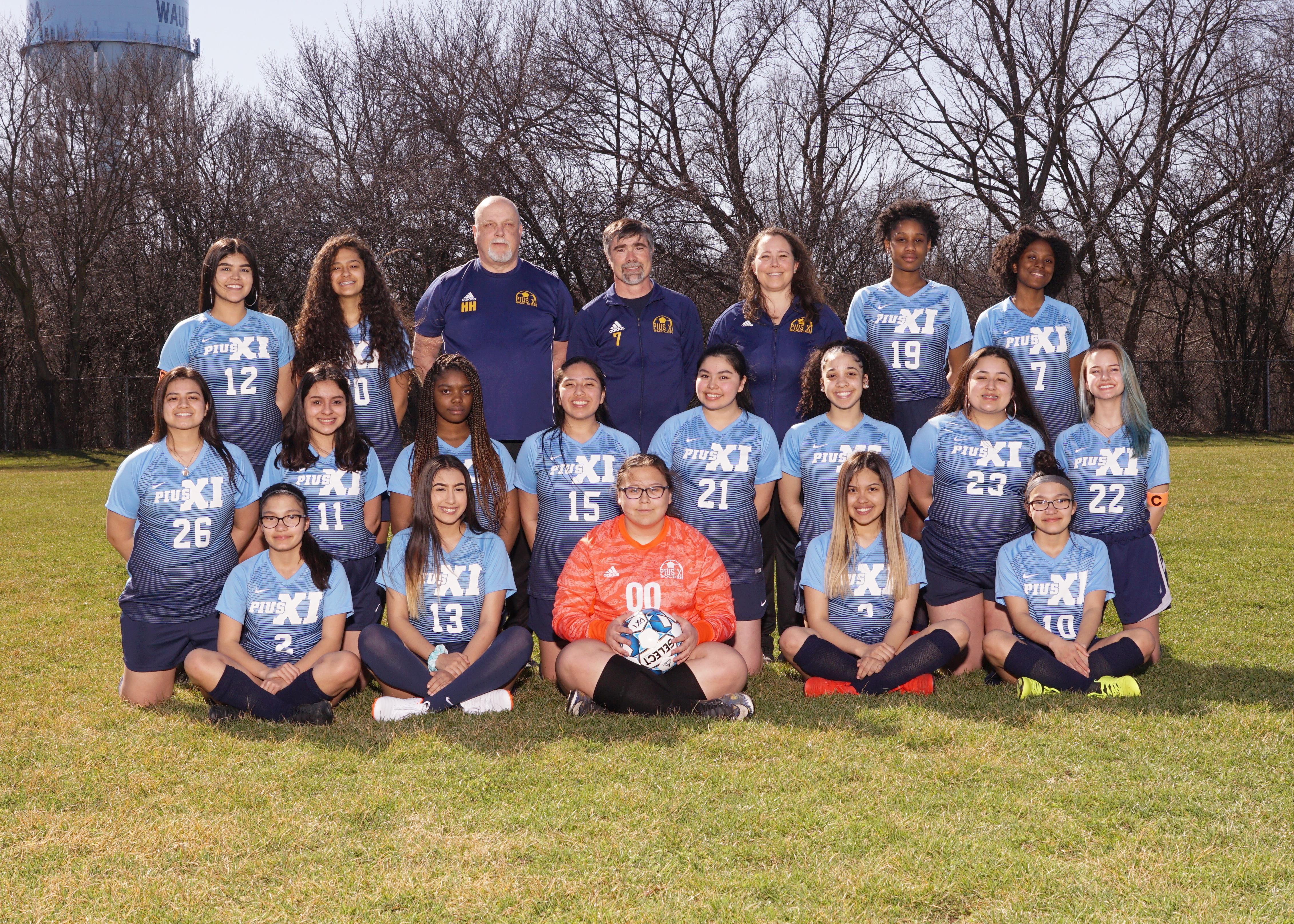 2019 JV Girls Soccer Team