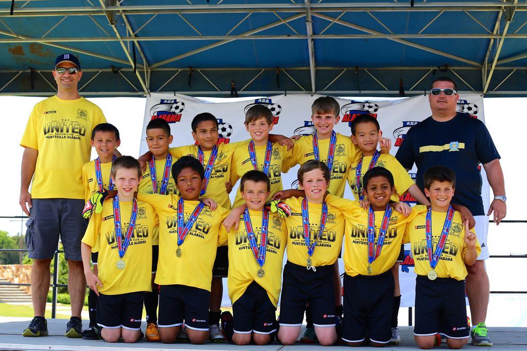 USC 05 Boys Premier 2015 Alabama U10 State Champions