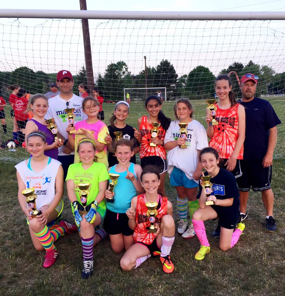 2015 Voorhees Memorial Day Classic U-10 Girls Premier Champions