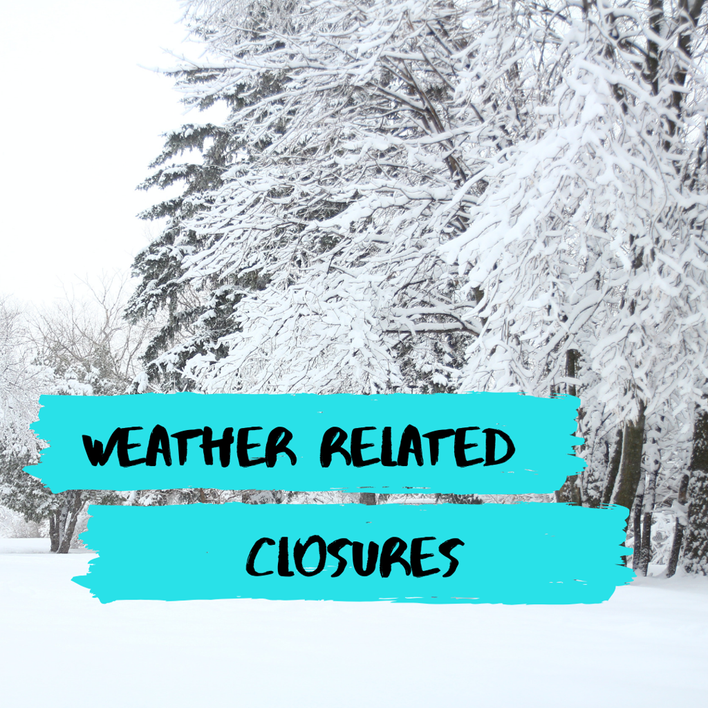 Weather related closures image