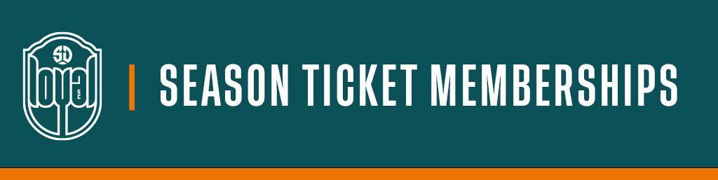 Season Ticket Memberships
