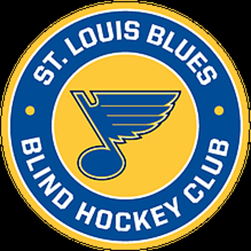St. Louis Blues Blind Hockey Club logo
