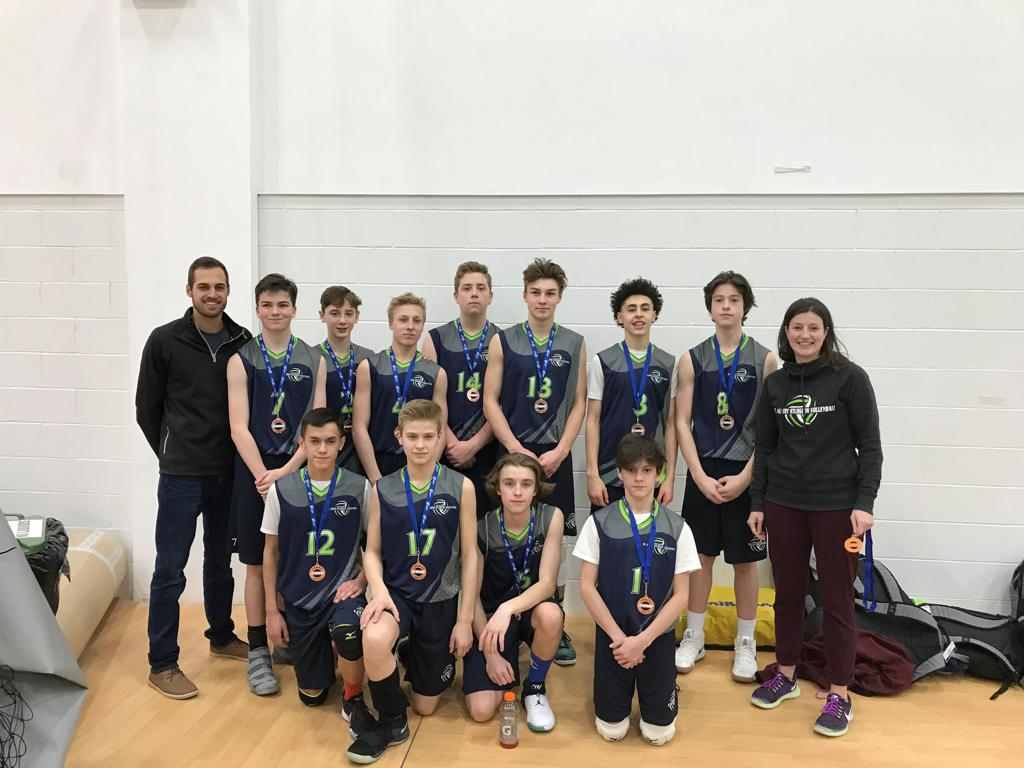 U15 Men Blue Team - Premier 1 Blue Playoff Bronze Medalists - Great Job Guys!