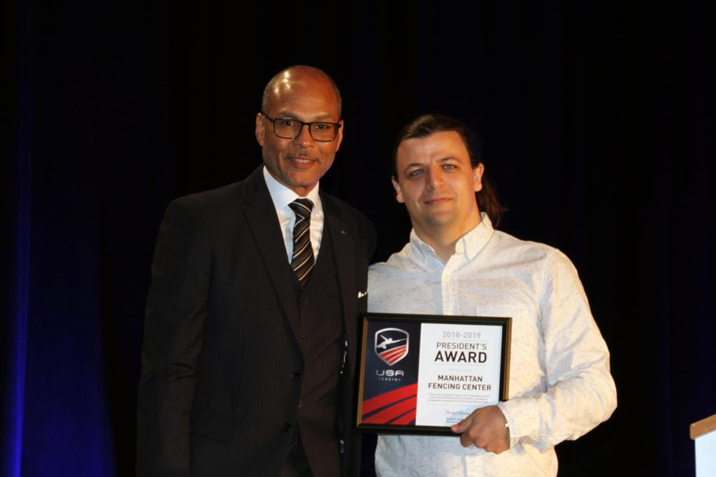 Image result for president's award usa fencing