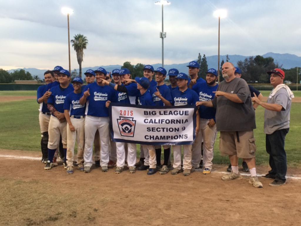District 72 Big League Sectional Champions