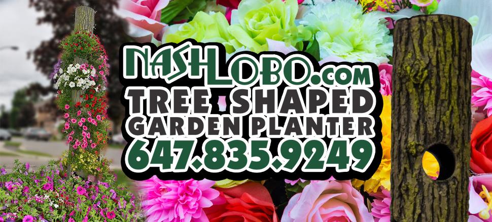 Nash Lobo Tree Shaped Planter