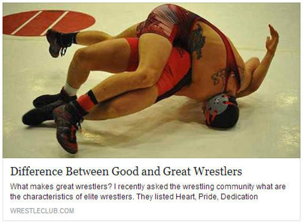 Eden Prairie Wrestling Coach Jeff Wichern Difference between Good and Great Wrestlers