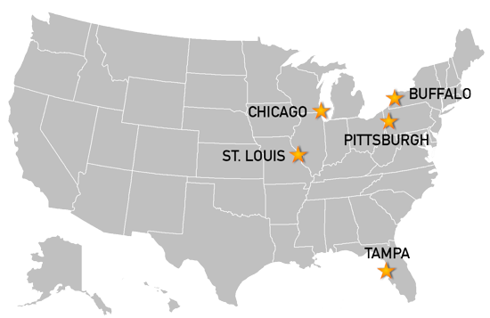 Finalists Named For Hosting IIHF World Juniors - St louis on us map
