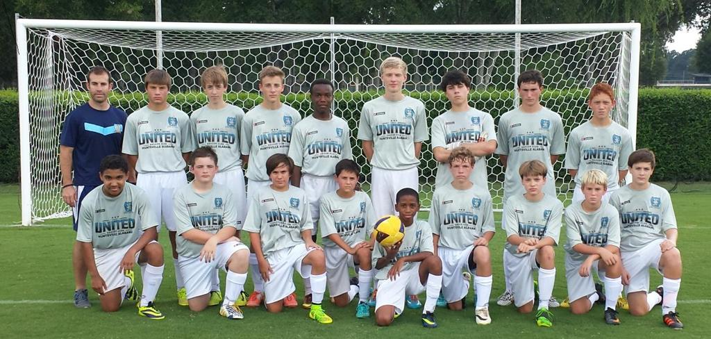 USC 00 Boys (Elite) Fall 2014 Team